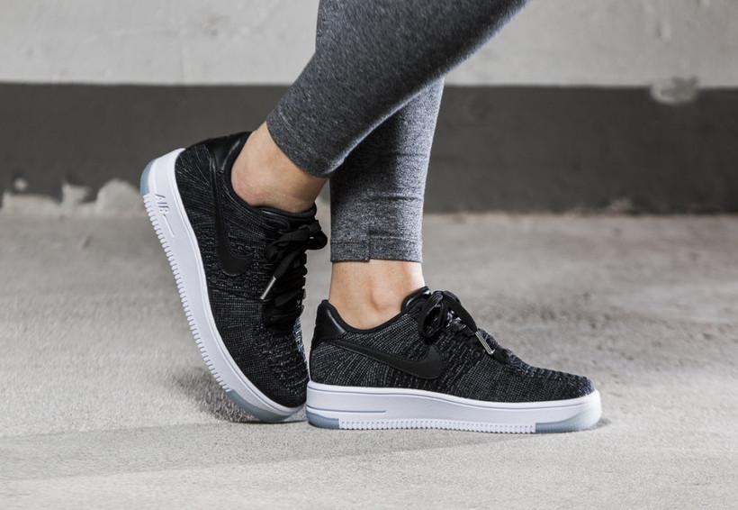 newest b3e76 01682 Кроссовки женские Nike Air Force 1 Ultra Flyknit Low Black (в стиле Найк):  продажа, цена в Одессе. кроссовки, кеды повседневные от