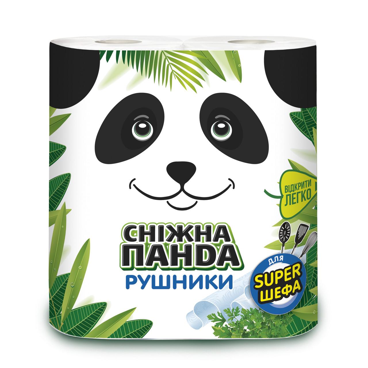 Сніжна Панда рушники 2 шт НУ106