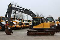 Гусеничный экскаватор Volvo EC210CL.