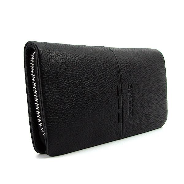 6f6072848155 Клатч мужской Bally bal-2607-4 bla черный кожаный на молнии - Интернет  магазин