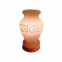 Соляная лампа Ваза греческая расписная 3,3 кг