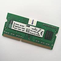 Оперативная память для ноутбука Kingston SODIMM DDR3 4Gb 1333MHz 10600s CL9 (KVR13S9S8/4) Б/У