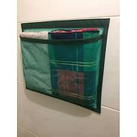 Органайзер подвесной на липучке Green Bag (1 карман), 39х31 см, фото 1