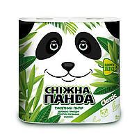 Снежная панда туалетная бумага 4шт Классик