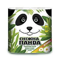 Снежная панда туалетная бумага 4шт Арома