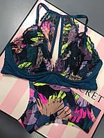 Комплект Victoria's Secret бралетт р.S трусики бесшовные р.XS, фото 1