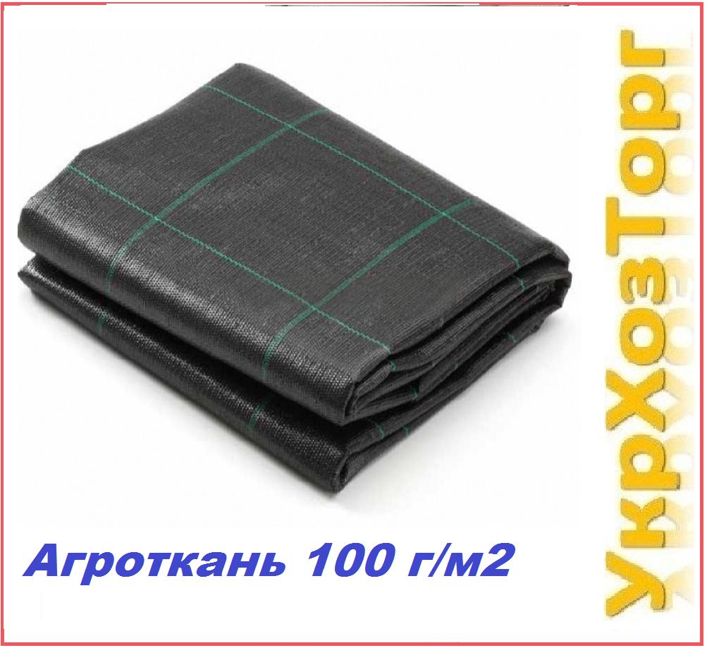 Агроткань черная  (100 г/м2) 3,4*50 м