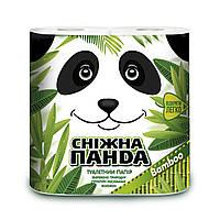 Сніжна панда туал папір 4шт Бамбук