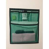 Органайзер подвесной на липучке Green Bag (4 кармана), 40х47 см, фото 1