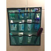 Органайзер подвесной на липучке Green Bag (12 карманов), 43х50 см