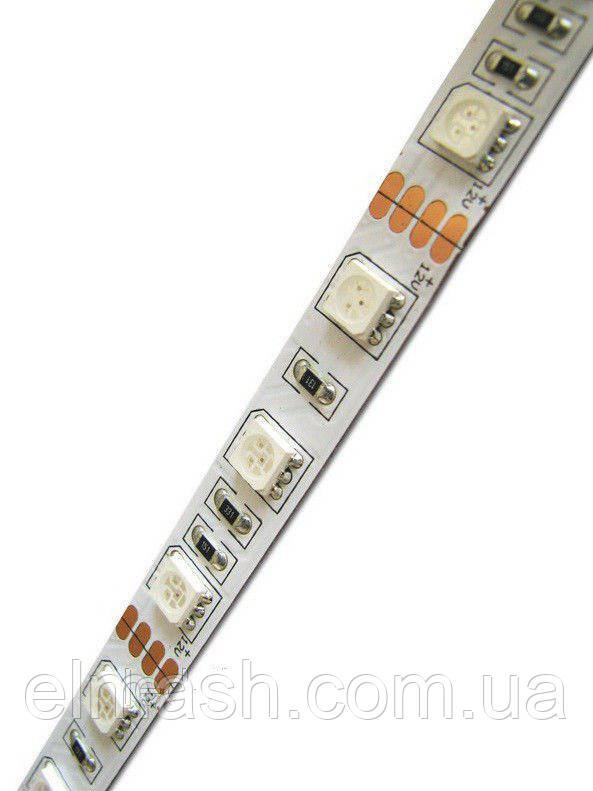 Лента алюминевая 12V 10 см. (3528) 6smd/шт - КРАСНЫЙ