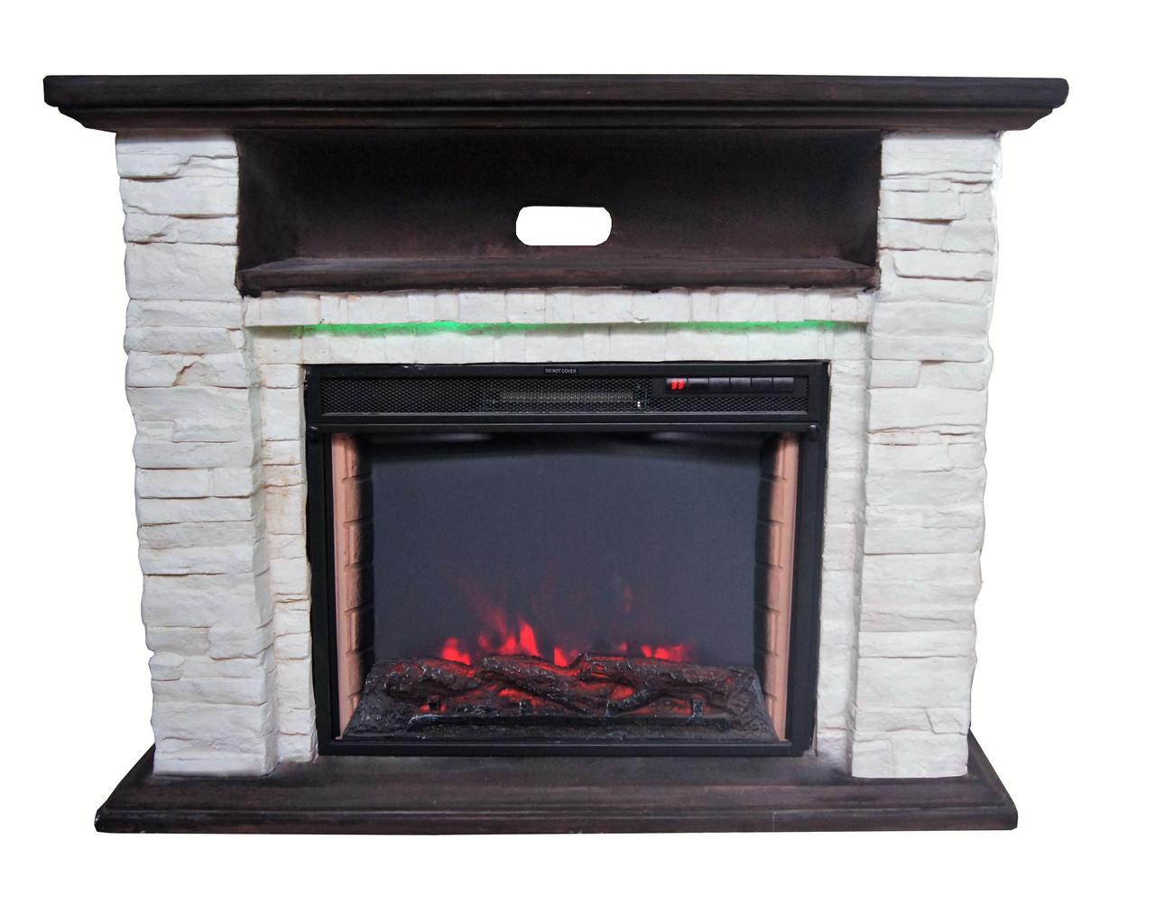 Електрокамін з порталом BONFIRE Ellison Stone24 Mood suite( з підсвічуванням)+ вогнище JREC2024AS 24