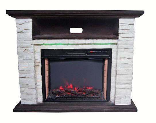 Електрокамін з порталом BONFIRE Ellison Stone24 Mood suite( з підсвічуванням)+ вогнище JREC2024AS 24, фото 2