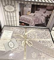 Комплект постельного белья евро Bella Villa жаккард