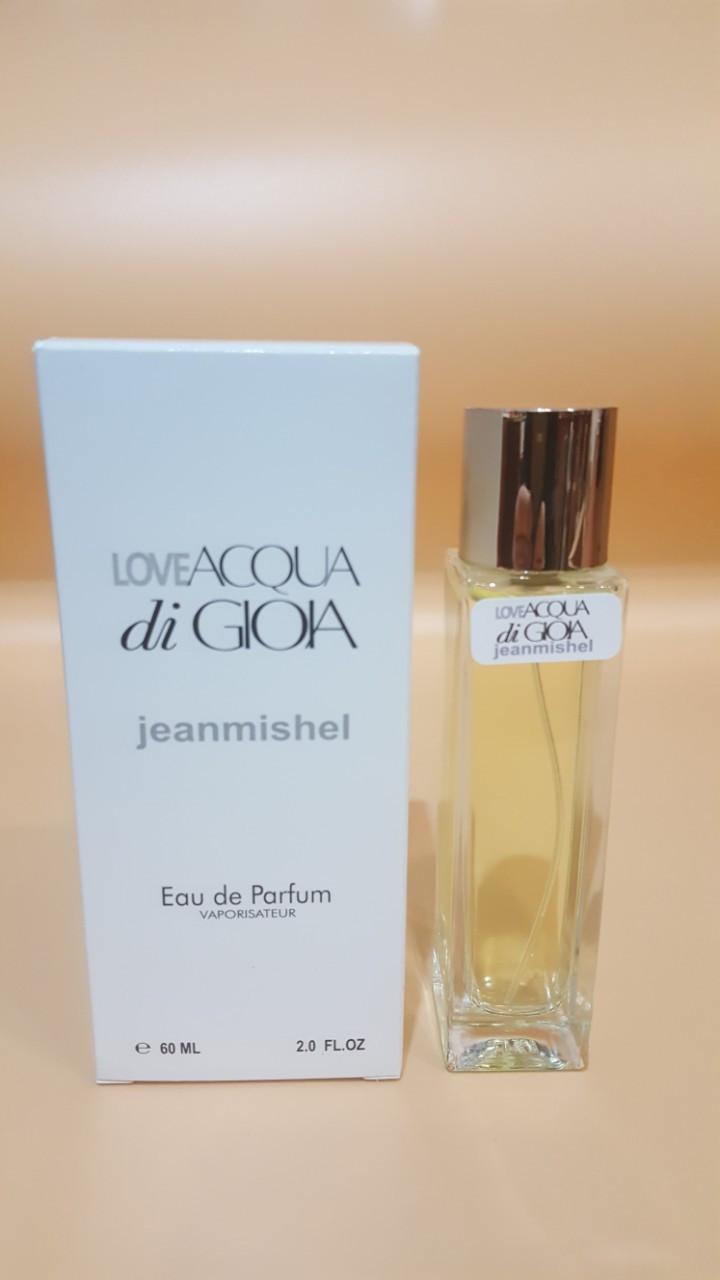 Love ACQUA di GIOIA Jeanmishel eau de parfum 60 ml