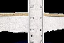 Стеллаж полочный Стандарт, оцинкованный, на зацепах (1800х900х500), 5 полок, ДСП, 220 кг/полка, фото 2