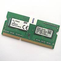 Оперативная память для ноутбука Kingston SODIMM DDR3 4Gb 1333MHz 10600s CL9 (KTL-TP3BS/4G) Б/У, фото 1