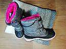 Теплые зимние водоотталкивающие сапожки на девочку (Размер 31, 20см), фото 2
