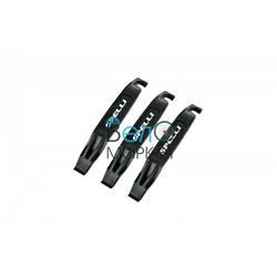 Бортировочні лопатки Spelli STL-308 для зняття шини з обода / пластикові / чорні