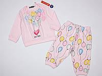 Пижама Original Marines для девочки 74 см розовая Италия ASA1577NA