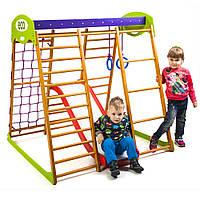 Детский спортивный комплекс для квартиры ТМ SportBaby: «Карамелька Plus 2» (Украина)