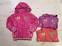 Двухсторонние ветровки для девочек оптом, Crossfire, 4-12 лет,  № CR6813, фото 1