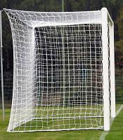 Футбольная сетка с шнура 3,5мм., ячейка 12см.,глубина 1,5м. #F/B