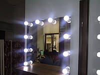 Зеркало с подсветкой без рамы Bueaty Lignt