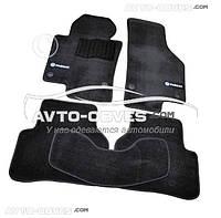 Коврики Volkswagen Passat B6 Чёрные Premium || материал - ворс