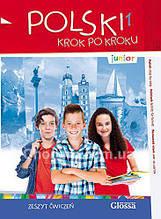 Polski, krok po kroku Junior 1 Zeszyt ćwiczeń + Mp3 CD / Рабочая тетрадь