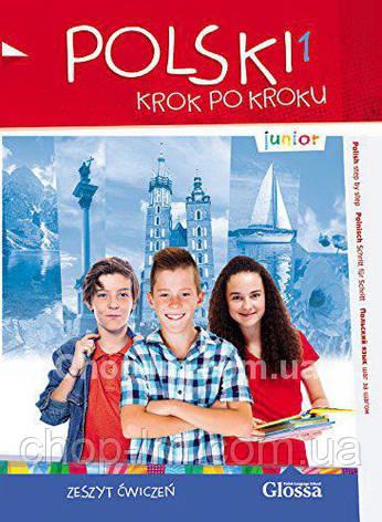 Тетрадь Polski, krok po kroku Junior 1 Zeszyt ćwiczeń + Mp3 CD + e-Coursebook, фото 2