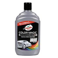 Цветной полироль (серебристая) TURTLE WAX Color Magic Plus 500мл