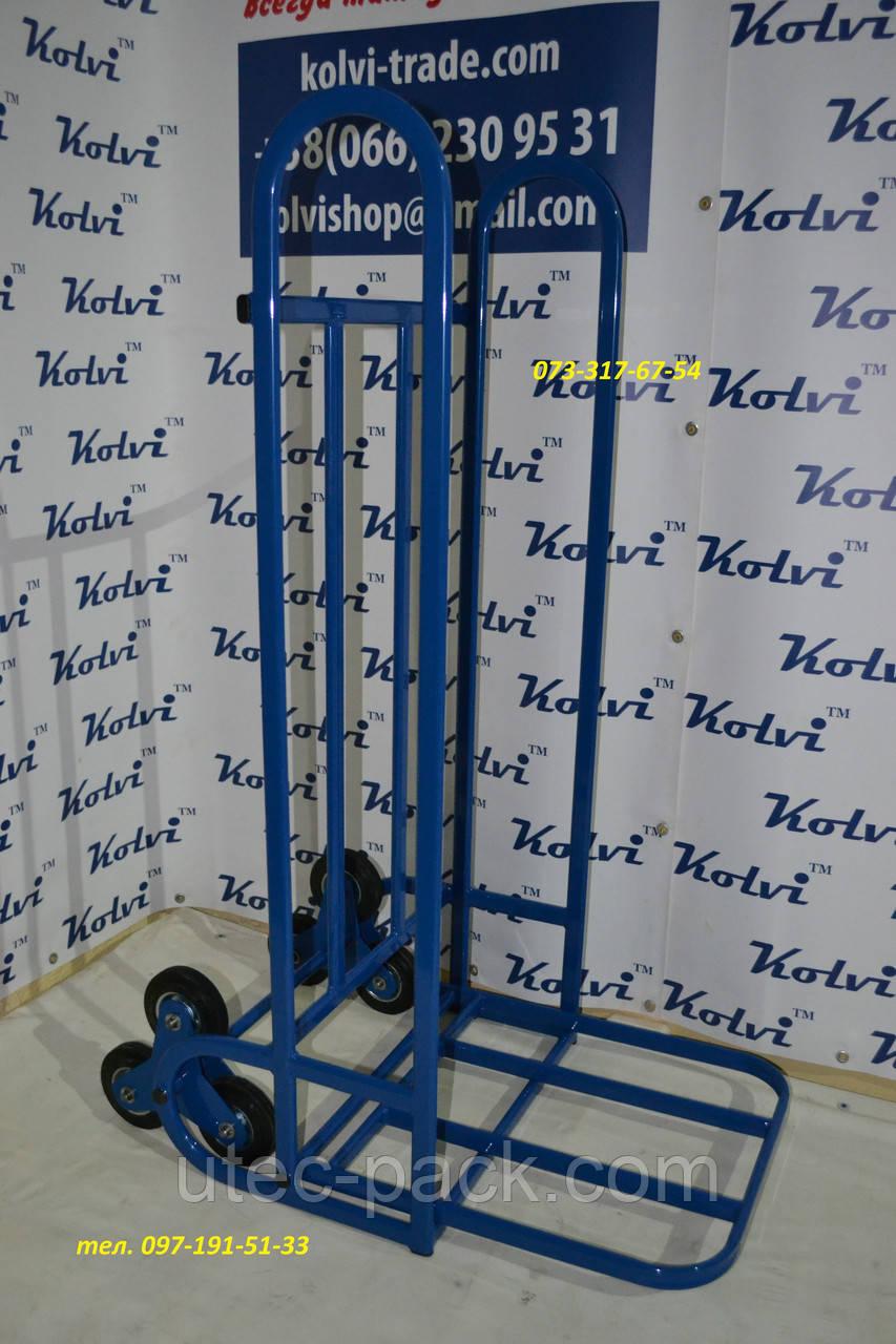 Тележка для подъема грузов по лестнице Kolvi ТЛУ 3х160-200