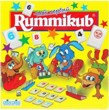 Настольная игра Мой первый Rummikub (Руммикуб для детей)