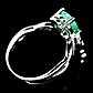 Изумруд, серебро 925, кольцо, 1471КЦИ, фото 3