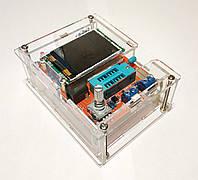 Собранный GM328 с КОРПУСОМ, Измеритель ESR LCR, Транзисторный тестер,Тестер электронных компонентов
