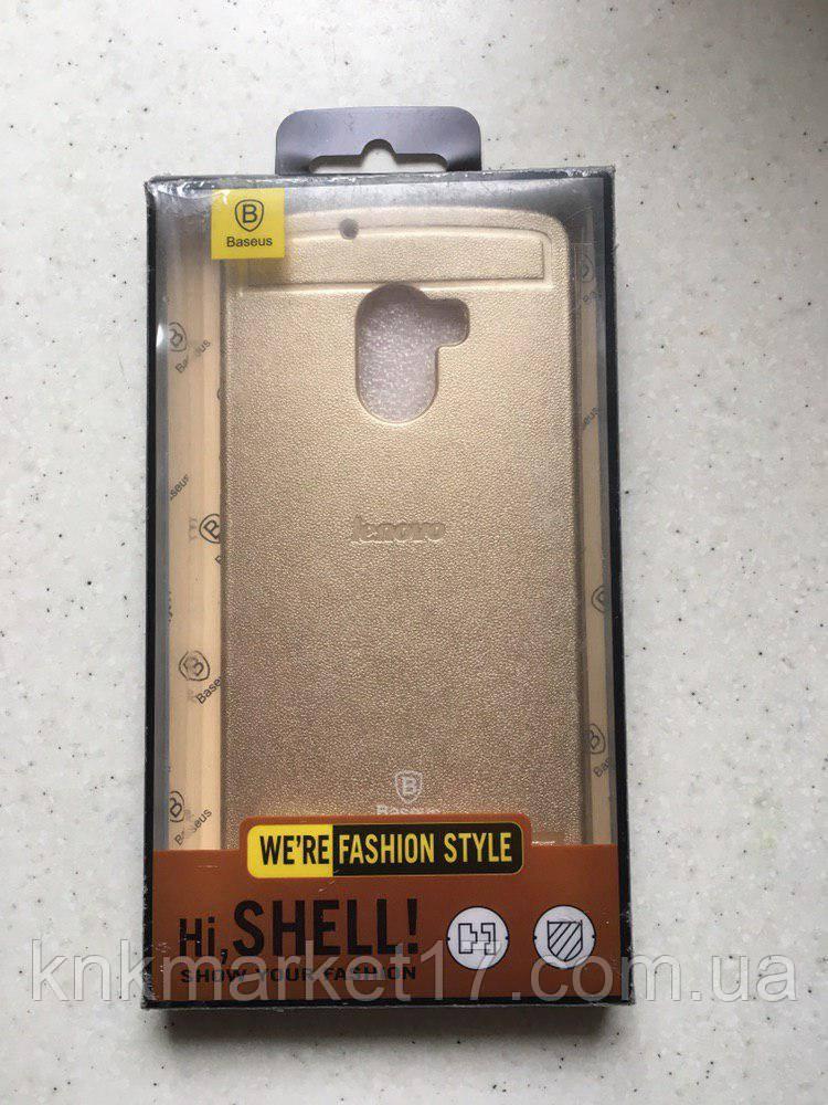 Чохол для Lenovo A7010 Золотий\Чорний