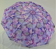 "Женский зонтик ""La-la land"", полуавтомат на 10 спиц, сиреневый цвет"