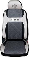 """Модельные чехлы Nissan Almera Classic B10 / Ниссан Альмера 2006-2010 """"Нубук"""", фото 1"""