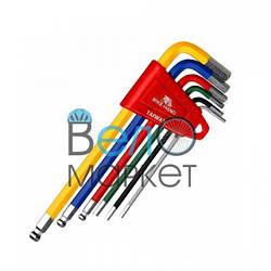 Набор шестигранников Bikehand YC-613-6C набор из 6 шестигранников 2/2.5/3/4/5/6 мм в пластиковой клипсе.