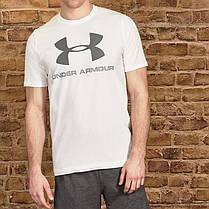 Футболка Under Armour Sportstyle Logo TShirt Mens, фото 3