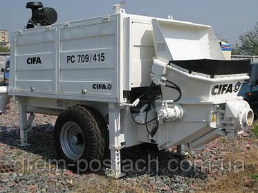 Cifa 709/415 Ремонт бетононасоса
