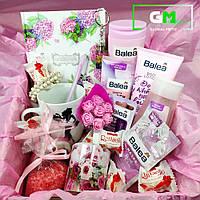 """Подарочный набор, подарок любимой девушке, женщене, жене, подруге, сестре, маме """"Розовые грезы"""". Коробка"""