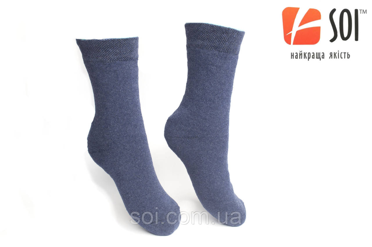 Шкарпетки Чоловічі Махрові 27р.(41-42) синій