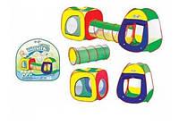 Детская палатка с туннелем из двух частей 72х241х90 см. (889-7B )