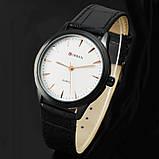 Годинники чоловічі Curren Classic Black-white, фото 2