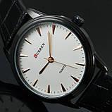 Годинники чоловічі Curren Classic Black-white, фото 4
