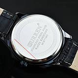 Годинники чоловічі Curren Classic Black-white, фото 5