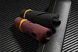 Силиконовый матовый текстурный чехол Bosilang для ZTE Nubia M2 / NX551J / Есть стекла /, фото 4
