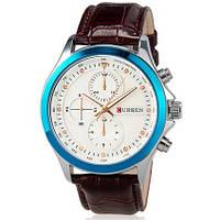 Часы мужские Сurren Pentagon brown-blue-white